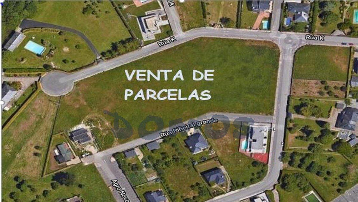 Parcelas en polígono Louzaneta, Lugo (Copiar)