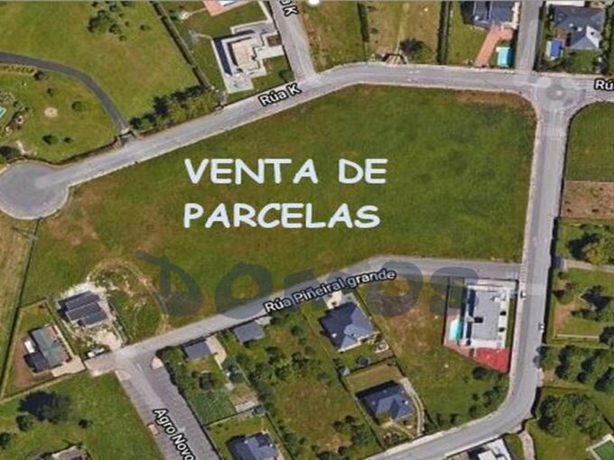 Parcelas en polígono Louzaneta, Lugo